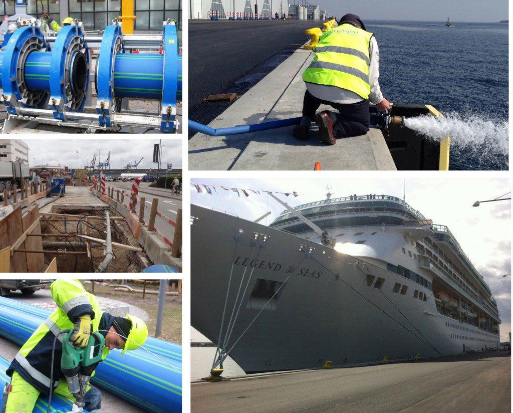 Vand til krydstogtturister