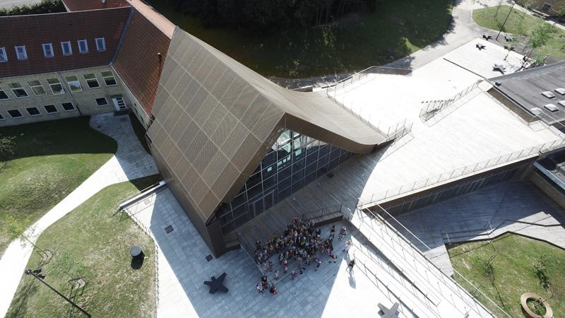Byggeriet af Kulturcenter Mariehøj